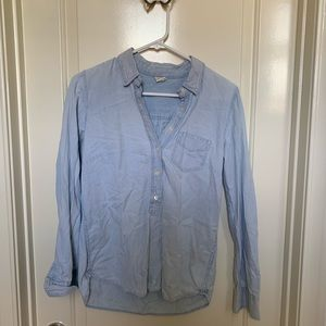Denim light wash JCREW Popover